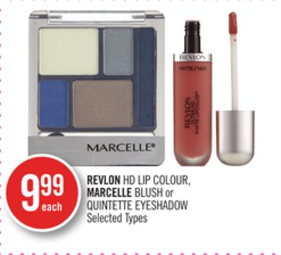 Revlon Hd Lip Colour - Marcelle Blush or Quintette Eyeshadow