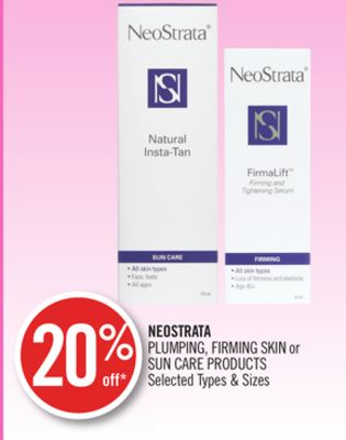 Neostrata Plumping - Firming Skin or Sun Care Products