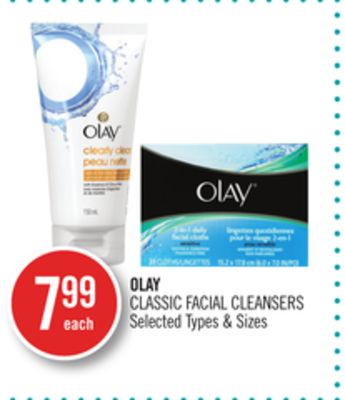 Olay Classic Facial Cleansers