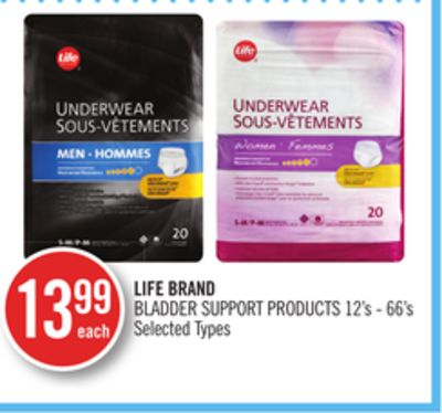 Life Brand Bladder Support Products