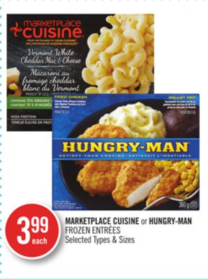 Marketplace Cuisine or Hungry-man