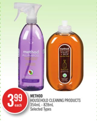 Method Household Cleaning Products 354ml - 828ml