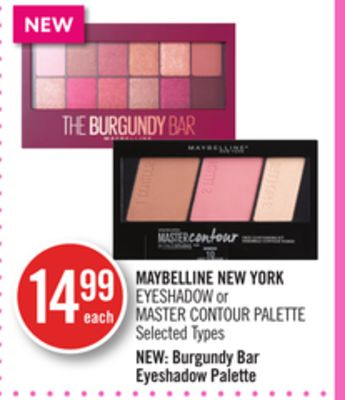 Maybelline New York Eyeshadow or Master Contour Palette