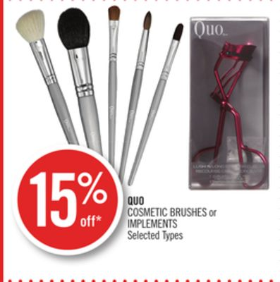 Quo Cosmetic Brushes or Implements