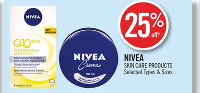 Nivea Skin Care Products