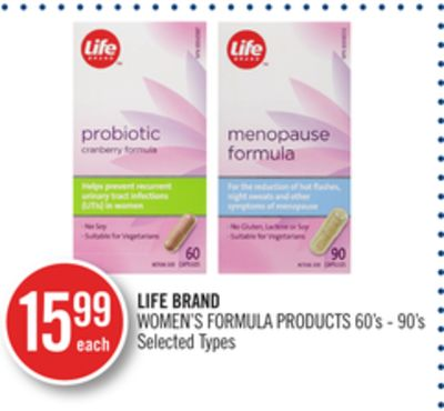Life Brand Women's Formula Products