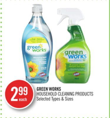 Green Works Household Cleaning Products