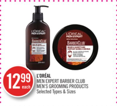 L'oréal Men Expert Barber Club Men's Grooming Products