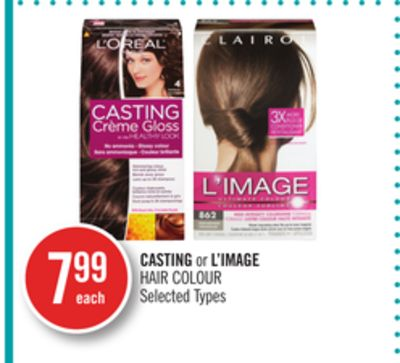 Casting or L'image Hair Colour