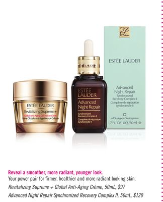 Revitalizing Supreme + Global Anti-aging Crème