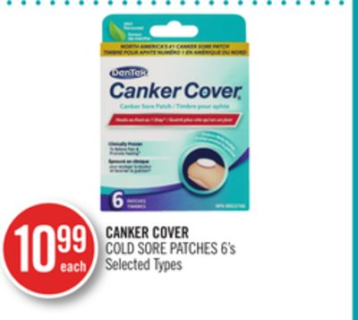 Canker Cover Cold Sore Patches