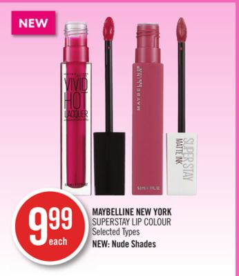 Maybelline New York Superstay Lip Colour