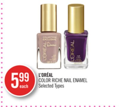 L'oréal Color Riche Nail Enamel