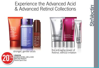 Strivectin Advanced Retinol - Labs or Acids Skin Care Products