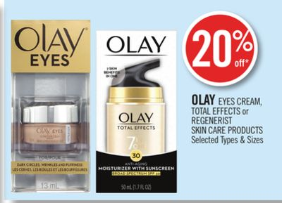 Olay Eyes Cream - Total Effects or Regenerist Skin Care Products