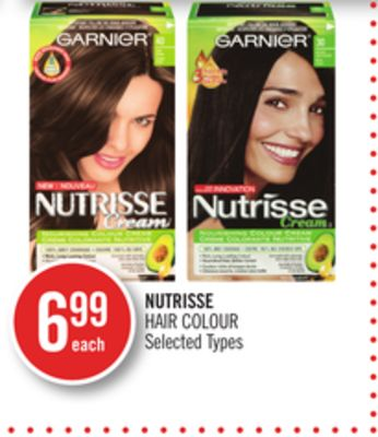 Garnier Nutrisse Hair Colour