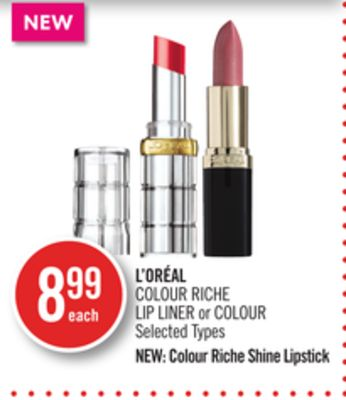 L'oréal Colour Riche Lip Liner or Colour