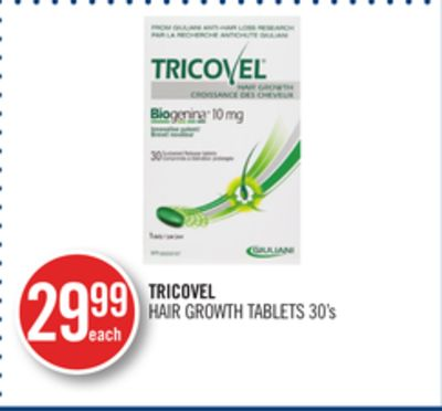 Tricovel Hair Growth Tablets