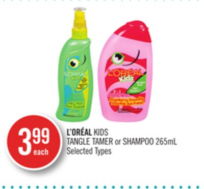 L'oréal Kids Tangle Tamer or Shampoo