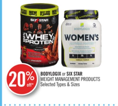 Bodylogix or Six Star Weight Management Products