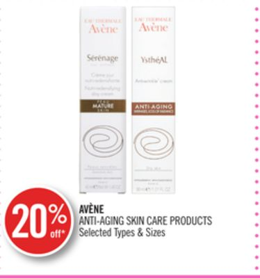 Avène Anti-aging Skin Care Products