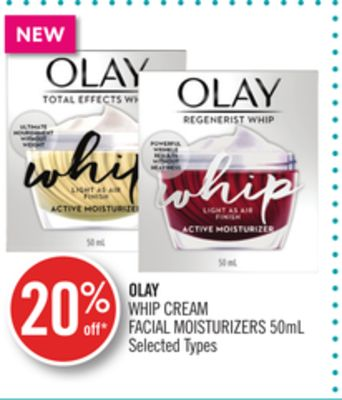 Olay Whip Cream Facial Moisturizers