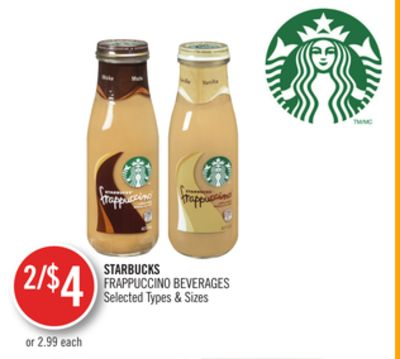 Starbucks Frappuccino Beverages