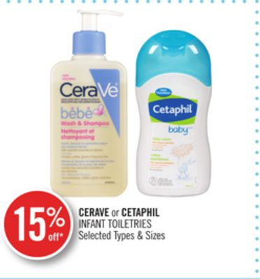 Cerave or Cetaphil Infant Toiletries