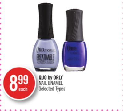 Quo By Orly Nail Enamel