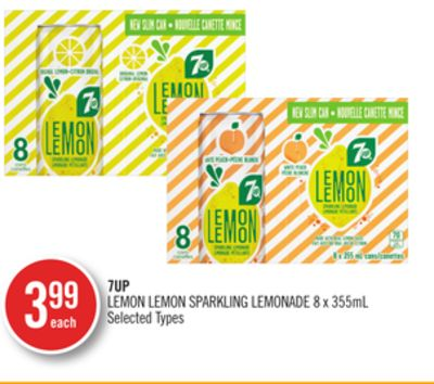 7up Lemon Lemon Sparkling Lemonade