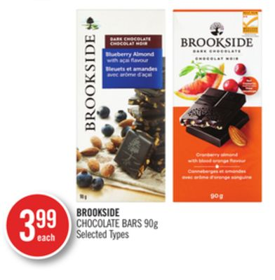 Brookside Chocolate Bars