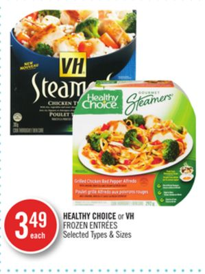 Healthy Choice or VH Frozen Entrées