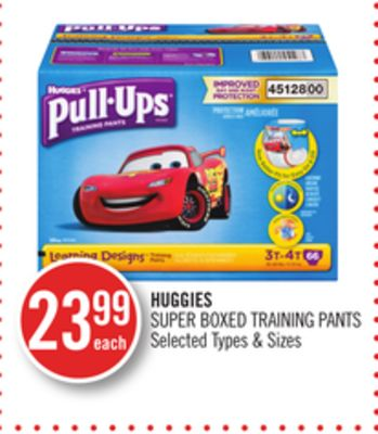 Huggies Super Boxed Training Pants