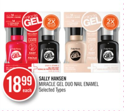 Sally Hansen Miracle Gel Duo Nail Enamel