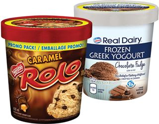 Nestlé Rolo Or Real Dairy Frozen Yogourt