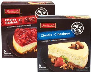 Irresistibles New York Style Cheesecakes