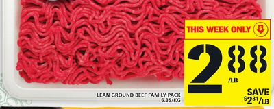 Lean Ground Beef Family Pack