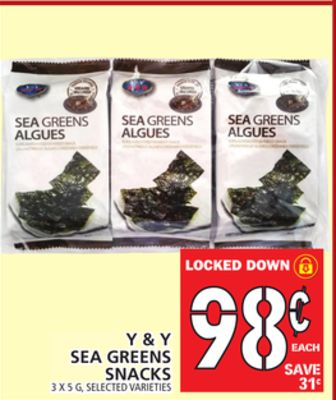 Sea Greens Snacks