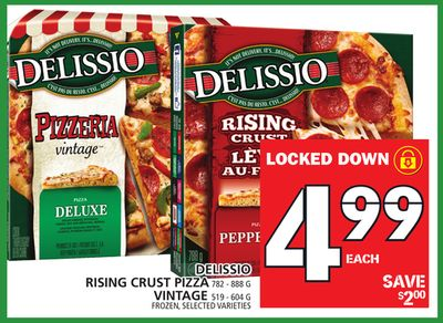 Rising Crust Pizza 782 - 888 G Vintage 519 - 604 G