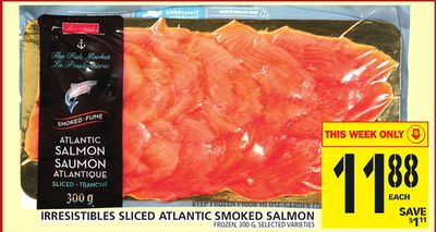 Sliced Atlantic Smoked Salmon