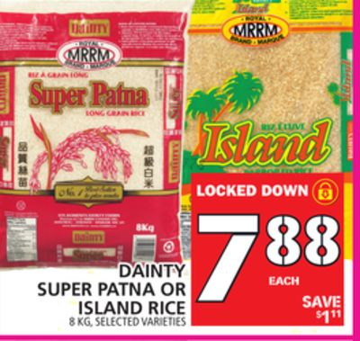 Super Patna Or Island Rice