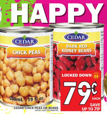 Chick Peas Or Beans