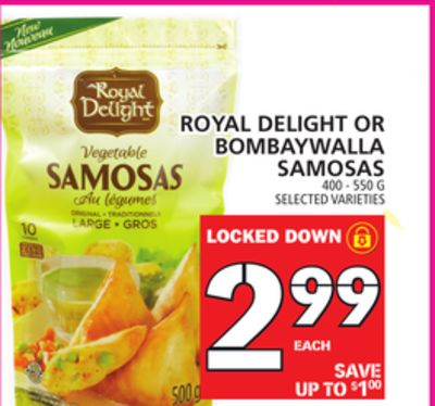 Royal Delight Or Bombaywalla Samosas