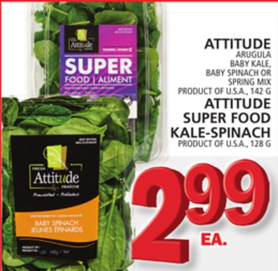 Attitude Or Attitude Super Food Kale-spinach