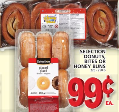 Selection Donuts - Bites Or Honey Buns