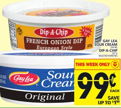 Gay Lea Sour Cream Or Dip-a-chip