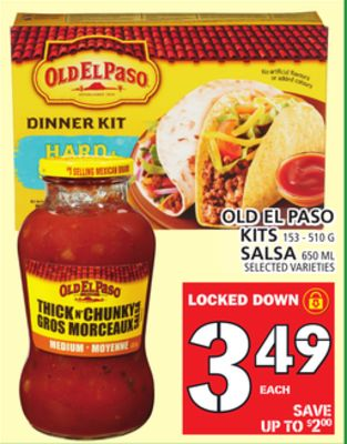 Old El Paso Kits Or Salsa