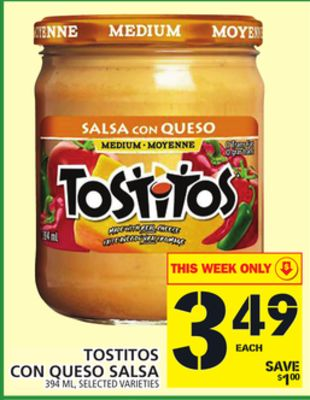 Tostitos Con Queso Salsa
