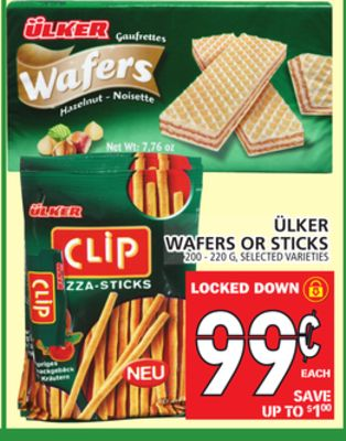 ÜLker Wafers Or Sticks