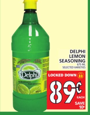 Delphi Lemon Seasoning